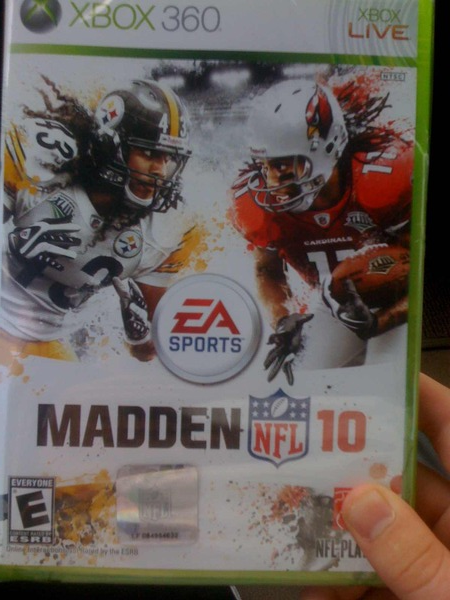 Madden '10 Cover