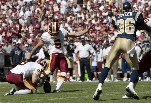 Rams Redskins Football