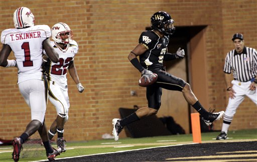 Maryland Wake Forest Football